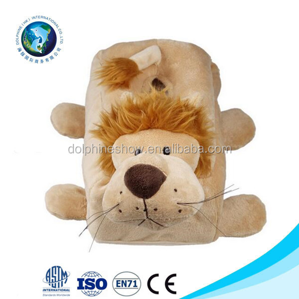 China Wholesale plush animal tissue box cover