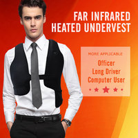 USB warm electric battery heating far infrared safety heated vest