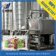 Aloe vera juicer machine/ fruit juicer production line/ automatic hot juice filling capping machine