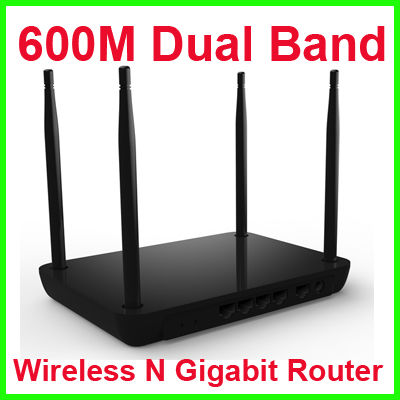 600M Dual Band Wireless N Gigabit Router