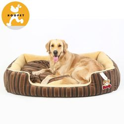 Extra plush outdoor plush dog beds