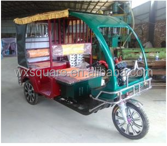 Electric rickshaws passenger three wheeler