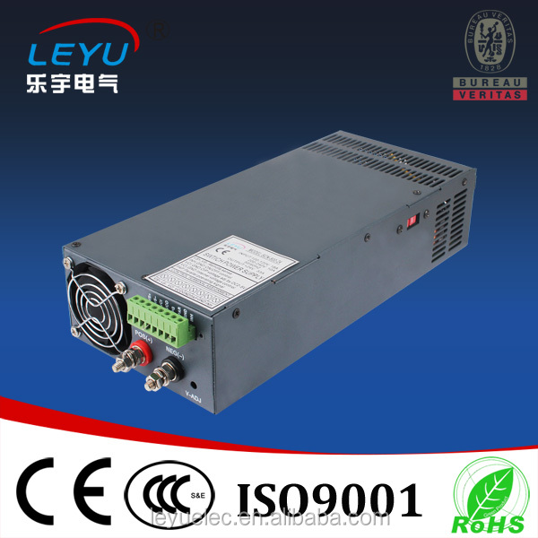 CE ROHS approved Factory outlet 600w 12v ac 220v dc 12v transformer SCN-600-12