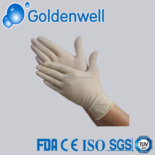 transparent latex disposable gloves