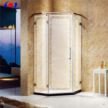 Diamoned-shape Stainless Steel Pivoted Shower Room