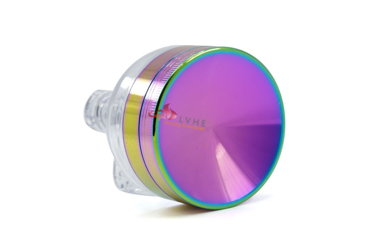 T085GZ LVHE Fashion Rainbow Color Pokeball Weed Tobacco Grinder
