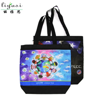 Eco-friendly Reusable Shopper Bag, Wholesale Price Tote Bag, PP Non-woven Handle Shopping Bag