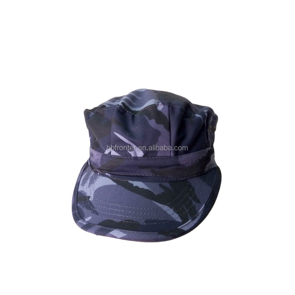 Custom CP camouflage navy tactical octagonal hat