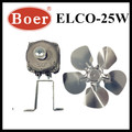 ELCO REFRIGERATOR PARTS-SHADED POLE MOTOR FAN(YJF58-25W)
