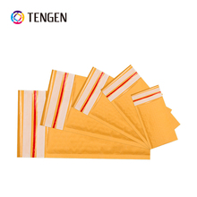 High Quality Printed Various Sizes Mini Gold/Brown Kraft Paper Envelope packaging