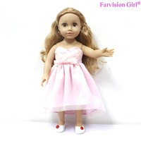 Pink american girl wholesale doll clothes doll toy clothes for sale