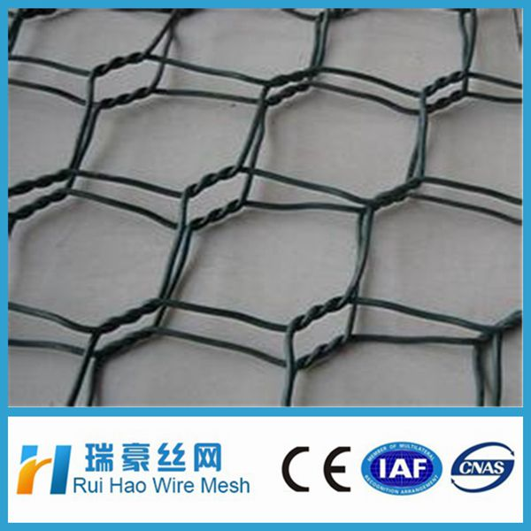 Factory supply 1/2 Inch PVC Coated Hexagonal Wire Mesh Netting