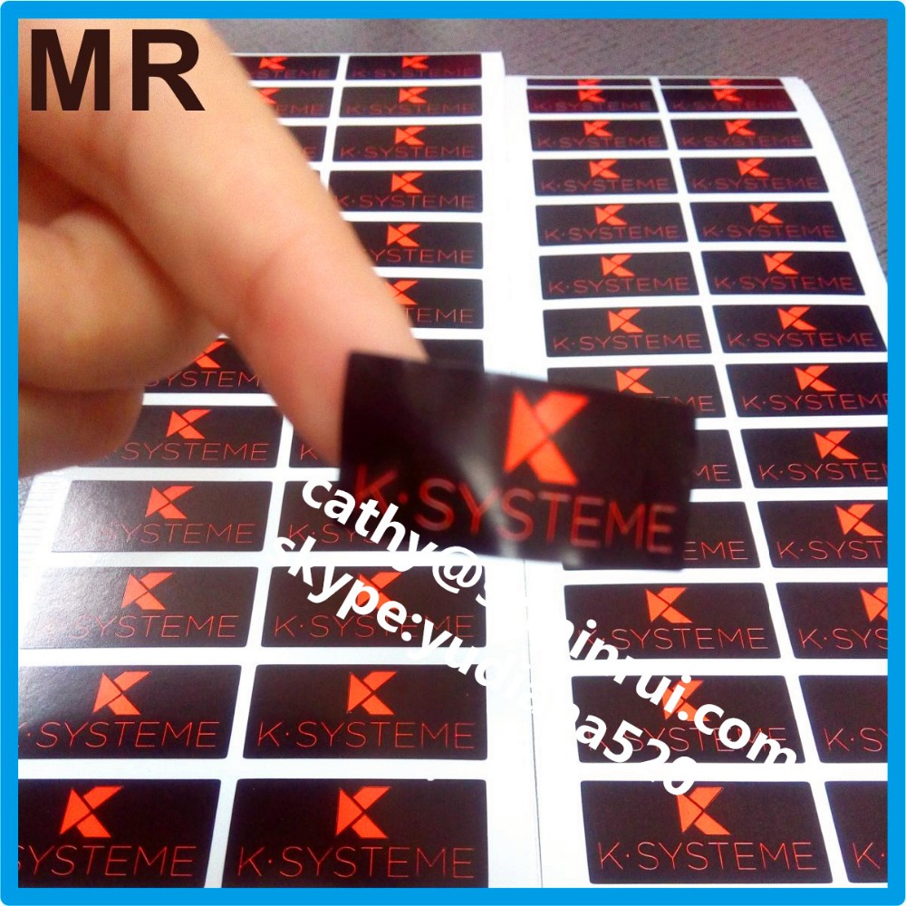 Custom adheisve sticker type company property tamper seal,detsructible vinyl breakable tamper proof labels for sealing