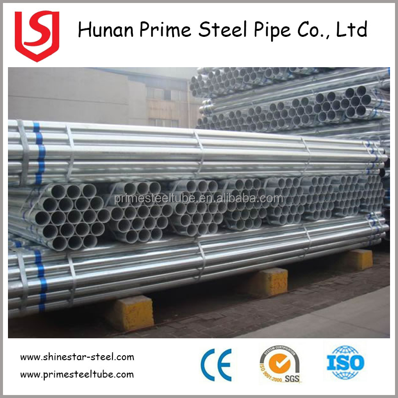 Tianjin Manufacturer Construction Building Materials Galvanized Steel Pipe, Steel Scaffolding Pipe