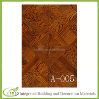 used hardwood flooring teak Art parquet engineered wood flooring for sale