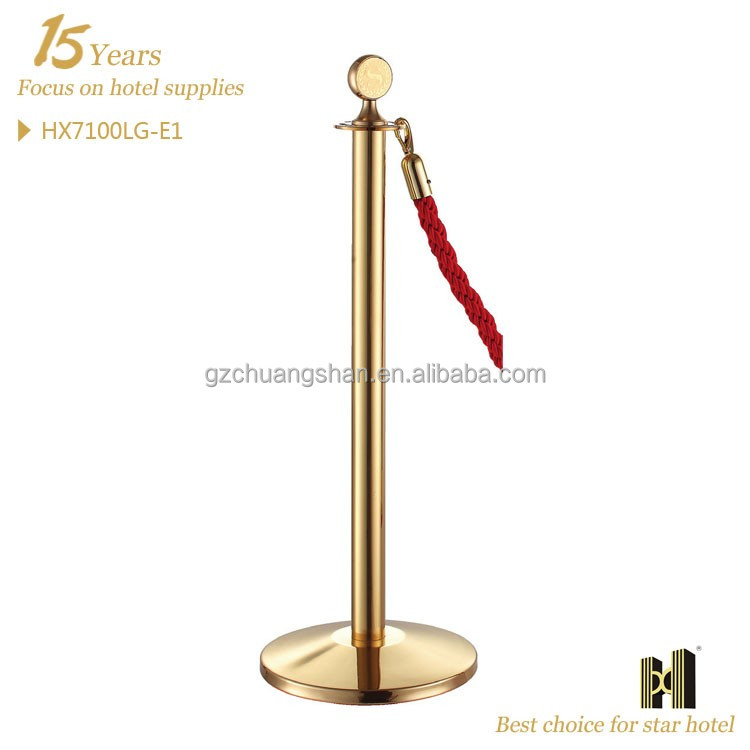 Stainless Steel Custom Avaliable Hotel and Airport stanchion