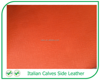 Superb Quality Genuine Leather Italian Tanned Calf Leather