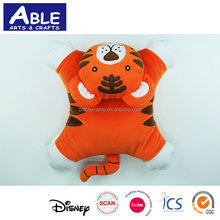3d cute shape kids plush baby gift cushion with toys manufacture