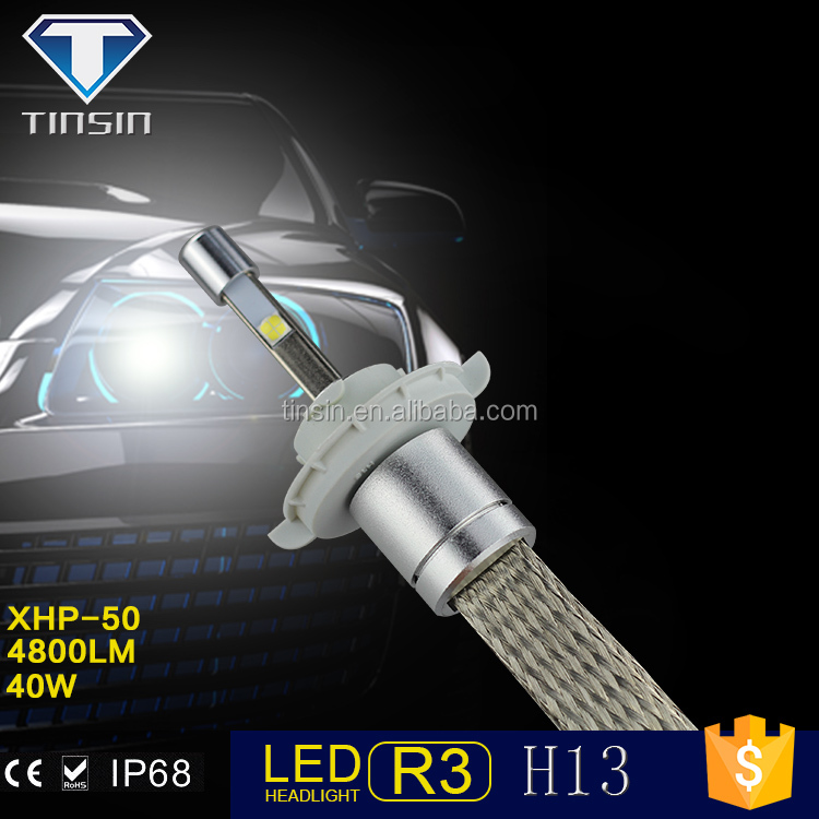 Hottest new arrival China supplier direct factory price projector head light accessories led auto headlight