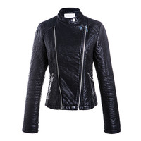 High quality fashion cheap jacket motorcycle woman