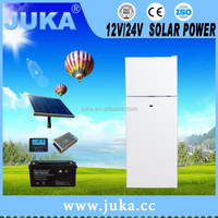 Two-door & three door Refrigerator BCD-158 bottom freezer solar fridge