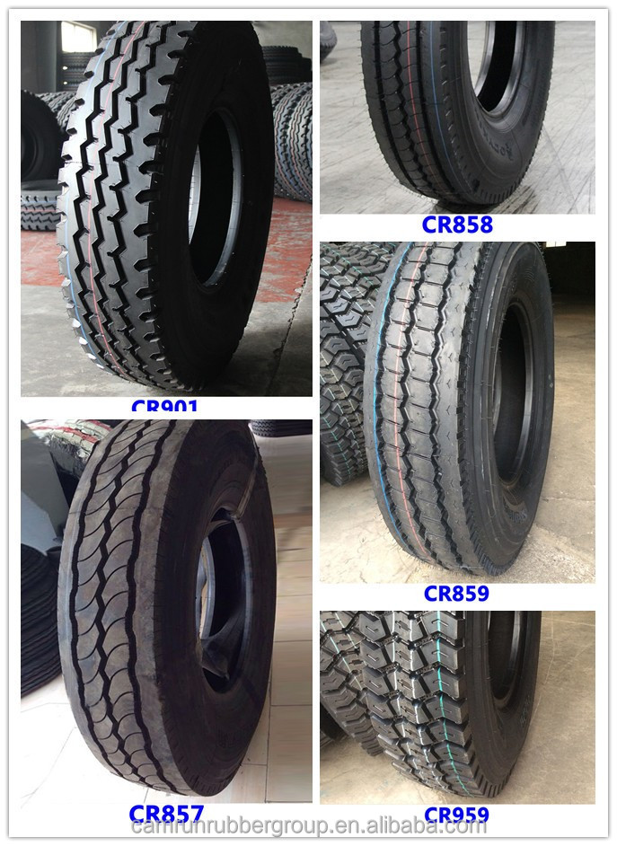 12.00r24 CR858 Heavy duty radial truck tire for UAE