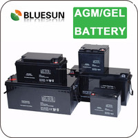 Bluesun new design deep cycle 2v 200ah lead acid solar battery for off grid system