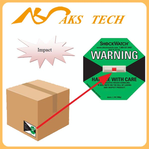 Hot Sale Shockwatch Impact Indicators Labels / Stickers ( 25G - 100G )