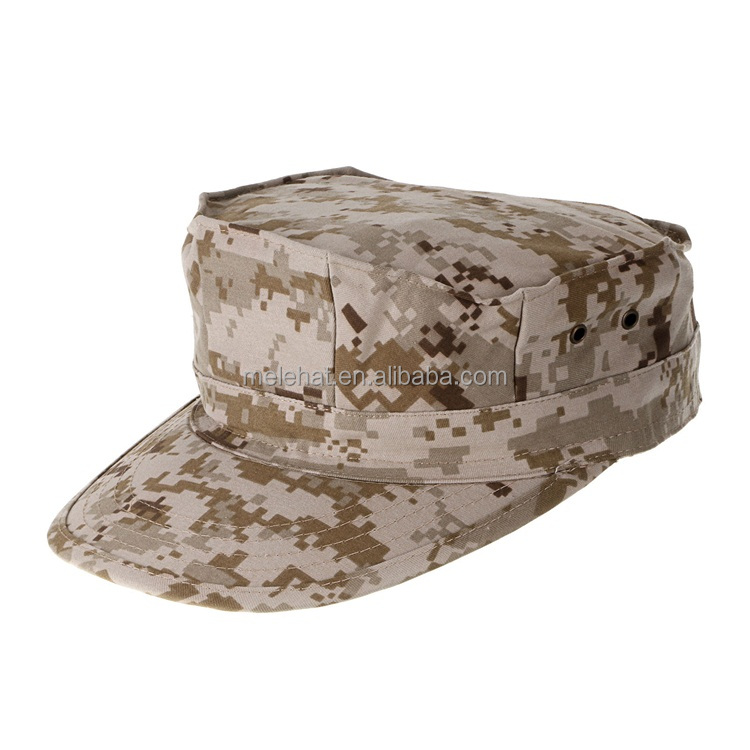Men's Octagon RipStop Combat Camouflage Military Tactical Army Hat And Cap