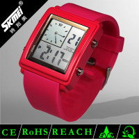 good-looking multifunction lcd digital 2011 hot silicon watch