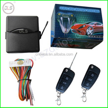 Universal Car Auto Alarm System Flip key Remote Control Central Door Lock Locking keyless entry System Kit + Controllers