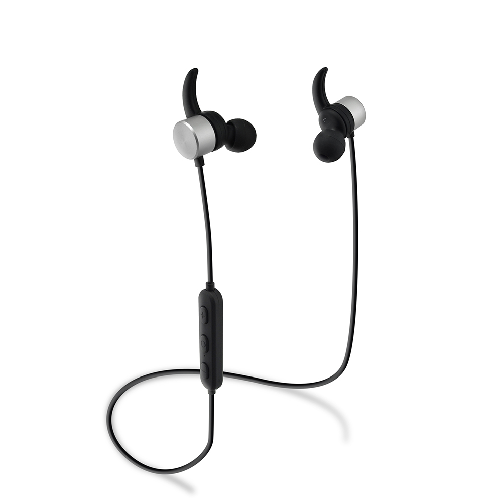 Cool looking metal stereo mp3 mobile oem headphones wireless bluetooth handsfree R1615 for xiaomi