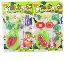 safe material hot ABS promotion cuttable fruit toys with EN71