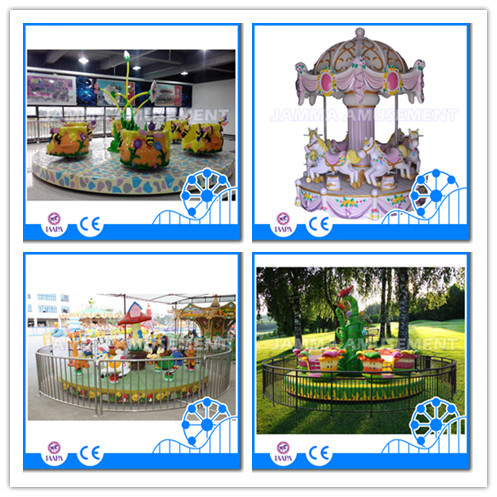 Top sale amusement park indoor coin operated children's rides mini train for kids Spaceship