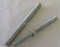 China fastener supplier grade 8.8 IFI-136 double end stud bolts threaded rods