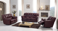 EA37 Modern leisure leather recliner sofa king sofa bed