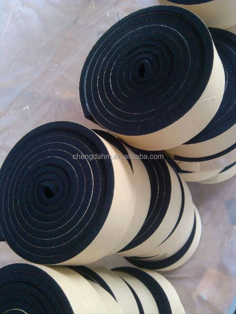 packaging Sgs Certificated Automotive Masking Paper Adhesive Backed Foam Rubber