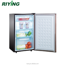 BD-80 small upright freezer mini vertical freezer with 4 crisper drawers