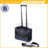 men business travel dual use polo wheeled laptop bag