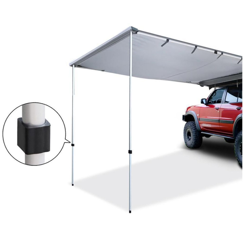 Car Side Awning Roof Top Tent 2.5M x 3M Camper Trailer Rack Camping 4WD 4X4