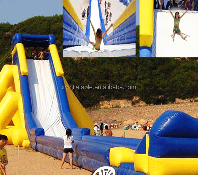 2016 Most popular jumbo water slide inflatable at factory price