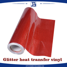 Economic practical wholesale glitter heat transfer thermo film for garment