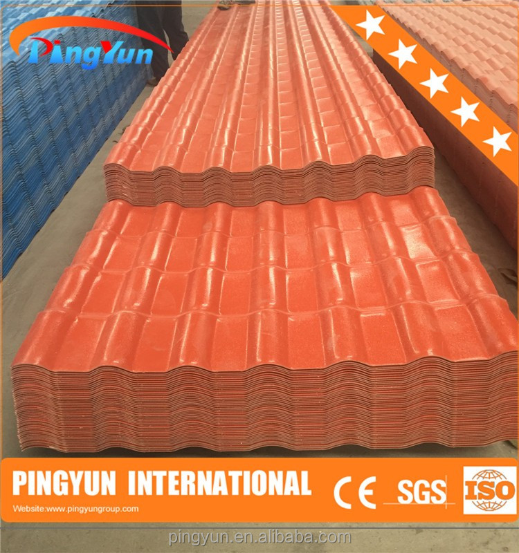 pvc plastic spanish roof tile/corrugated color roof philippines/color roof with price