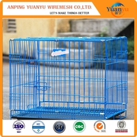 Eco-Friendly / Stocked wholesale dog pet cage stainless steel kennel
