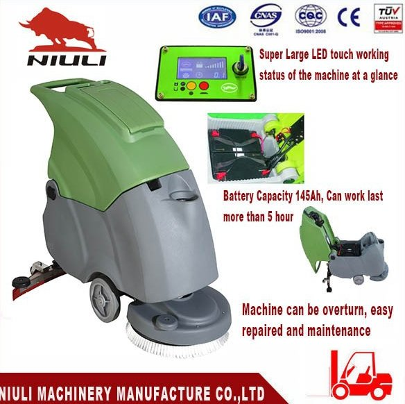 Hard Floor Cleaning Scrubber Machine