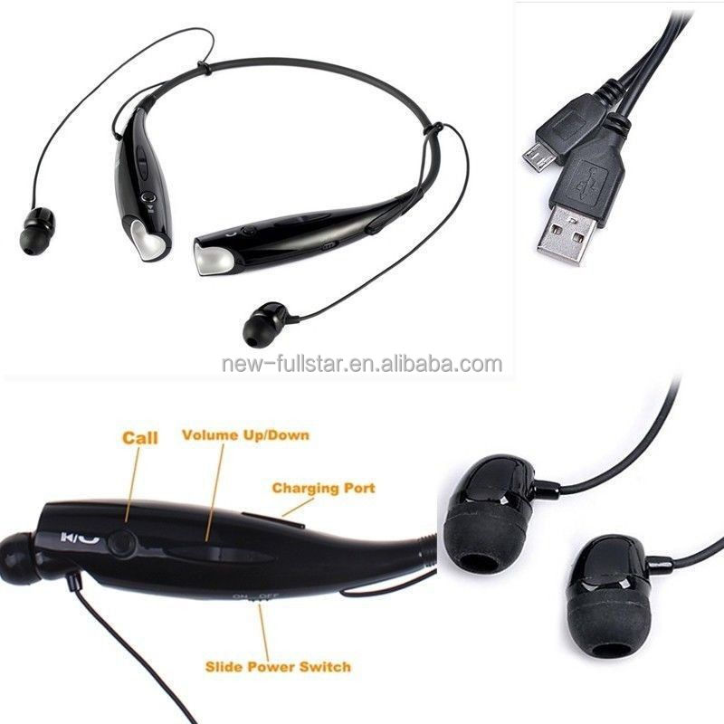 High quality stereo wireless bluetooth headset