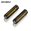Rechargeable lithium 3.7V 2300mAh li-ion 18650 battery for led lights