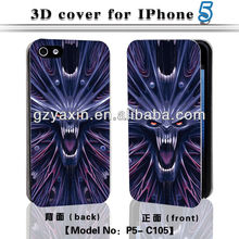 2014 newest 3d phone case for iphone 4/5/5s/5c top quality factory supply,3d cover cases for iphone 5