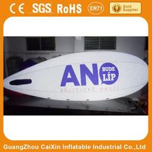 cheap inflatable advertising balloons / big inflatable air blimp/ air ship/ helium balloon for sale