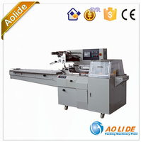 Servo Motor Driven Type Automatic roast bread application Packing Machine ALD-600W